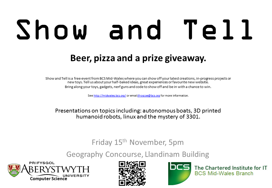 November Show And Tell